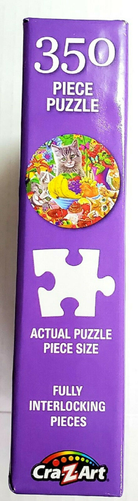 350 Piece Round Jigsaw Art Puzzle The Quilting Bee