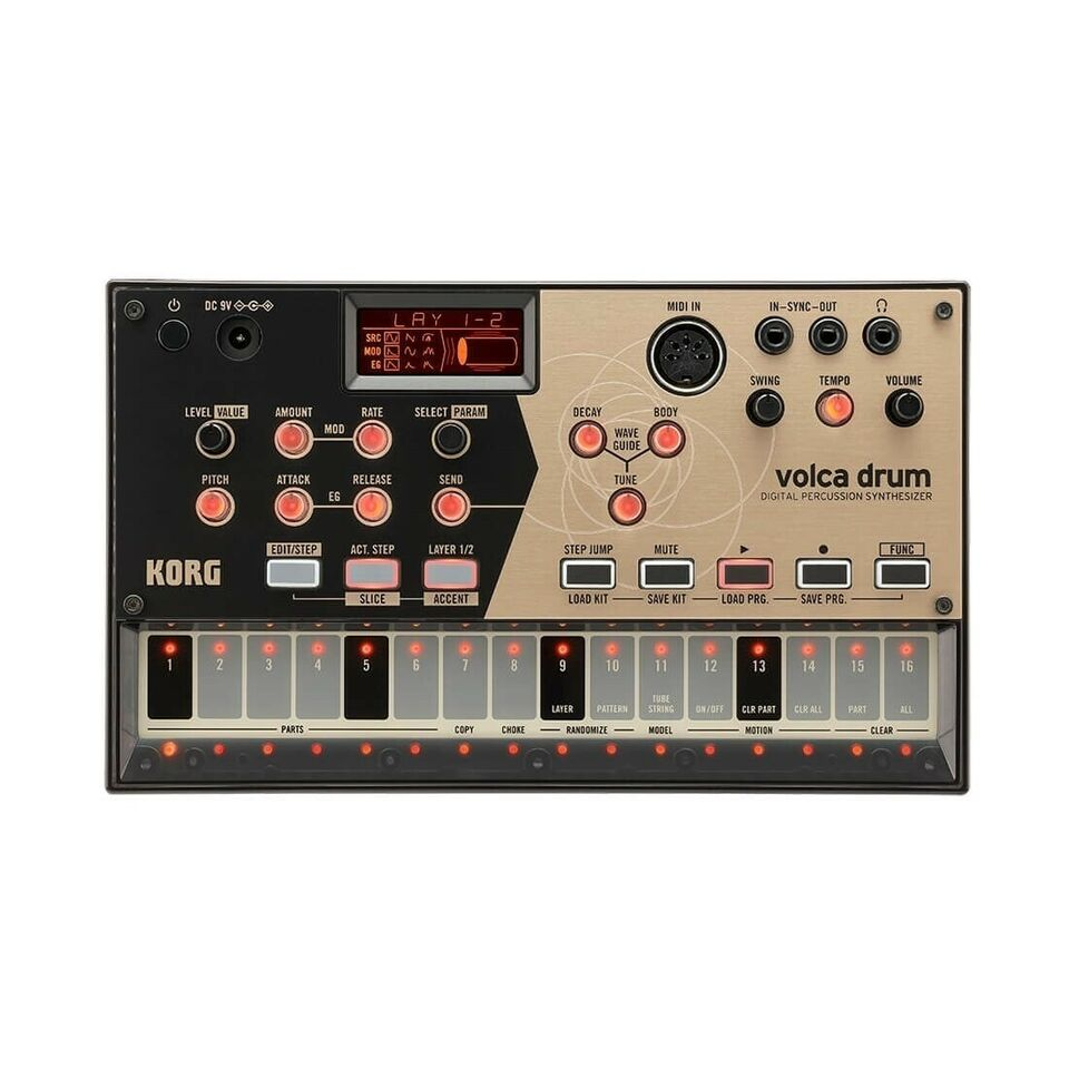 Synthesizer, Korg Volca Drum percussion synthesizer