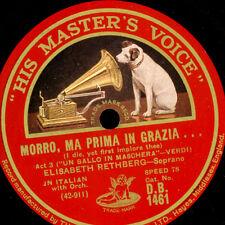 """ELISABETH RETHBERG -SOPRAN- """"Un Ballo in Maschera"""" Morro, ma prima in ...  G3552"""