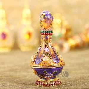 Handmade-Crystal-Metal-Bottle-Style-Trinket-Boxes-Figurines-Jewelry-Wedding-Gift