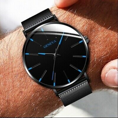 Luxury New Geneva Women Watch Stainless Steel Men's Quartz Analog Wrist Watches  | eBay