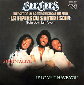 Bee-Gees-7-034-Stayin-039-Alive-France-EX-EX