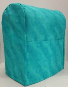 Image Is Loading Teal Sparkle Kitchenaid Stand Mixer Cover W Pockets