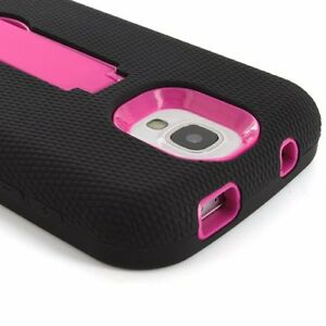 For-Samsung-Galaxy-S4-S-IV-Shockproof-Rugged-Impact-Hybrid-Armor-Stand-Case