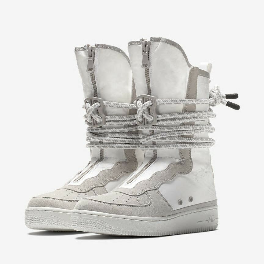 Nike SF AF1 HI Sz 12 Special Field Boots Summit White/Vast Grey AQ0107-001 The latest discount shoes for men and women