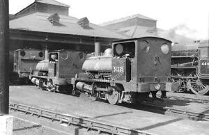 PHOTO-British-Railways-Steam-Locomotive-51231-in-1957-at-Bank-Hall