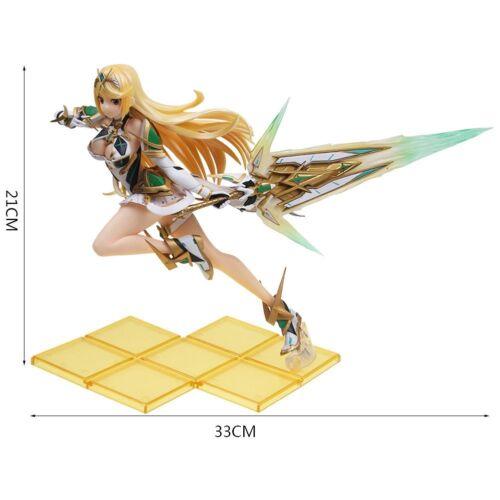 "Xenoblade Chronicles 2 Mythra Hikari Pyra Homura Anime Figure Gifts in Box 8.3"""