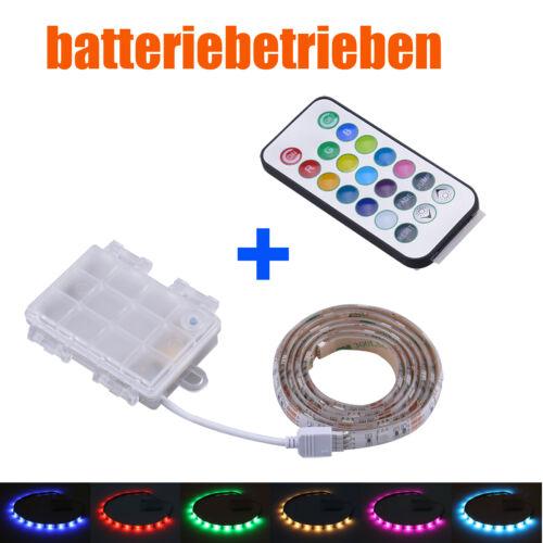 Batterie Betrieben LED RGB Strip Fernbedienung Mehrfarbig Leiste Controller