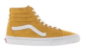 Vans-Unisex-Sk8-Hi-Suede-Sneakers-Mango-Mojito-Yellow