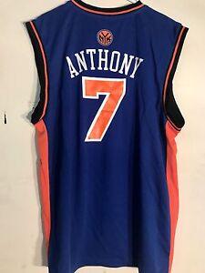 41be8e5947cb Image is loading Adidas-NBA-Jersey-NEW-YORK-Knicks-Carmelo-Anthony-