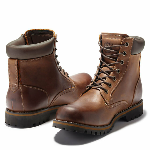 Rugged 6 Inch Waterproof Boots