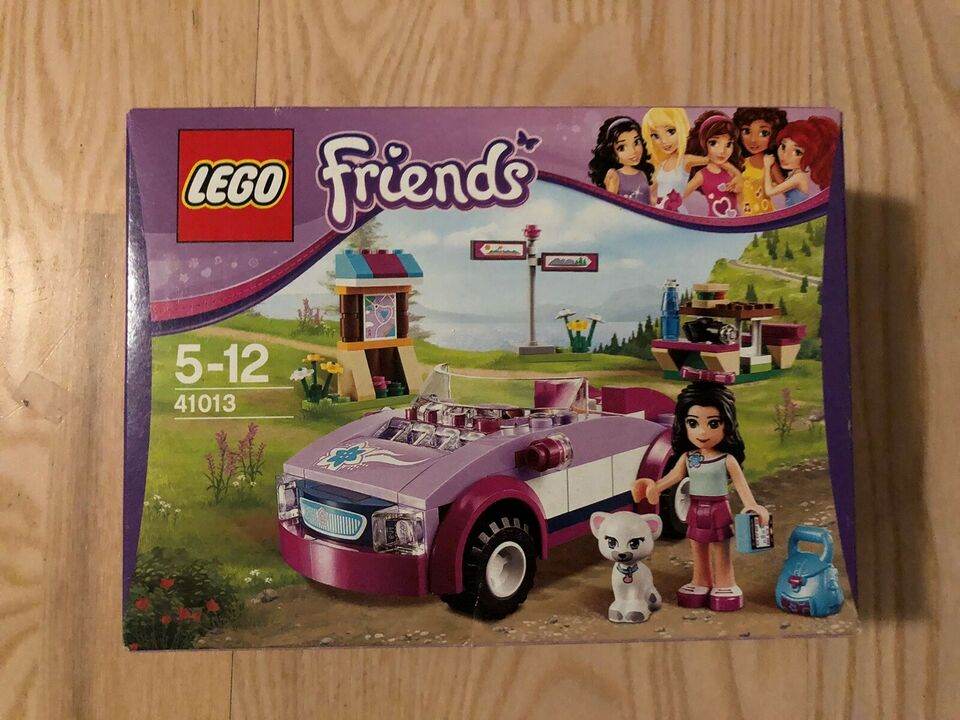 Lego Friends, 41013 Emmas Sports Car