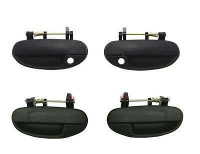 Outer Rear Left Door Handle For Daewoo Lanos 1997-2007 Black