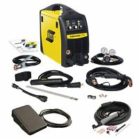 Esab Fabricator 141i W/tig Torch & Foot Control W1003141, W4013802, Tha600285 on sale