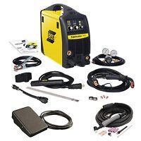 Esab Fabricator 141i W/tig Torch & Foot Control W1003141, W4013802, Tha600285 on sale