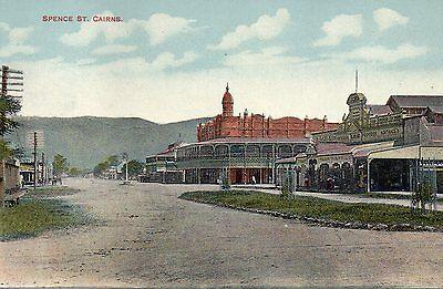 Australia Vintage Queensland Cairns Spence Street