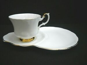 Kaffeetasse mit Untere Royal Albert Val D`or