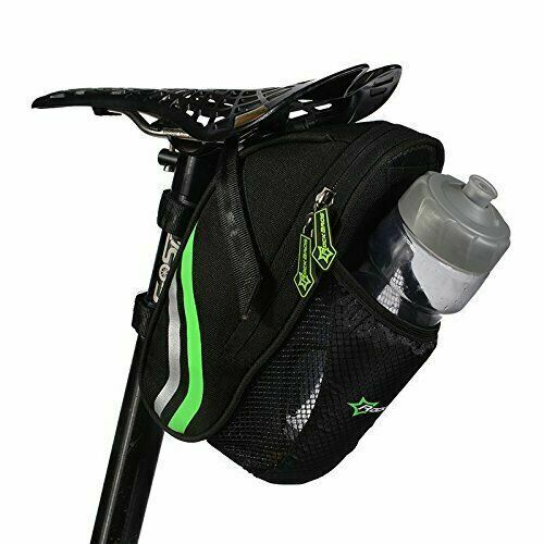 Cycling Bicycle RockBros Saddle Bag Pannier MTB Road Bike Seat Bag Tail Storage