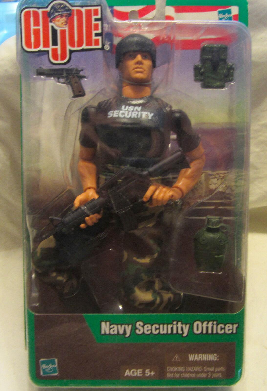 Gi - joe - security officer 12  action - figur 2003 hasbro neue