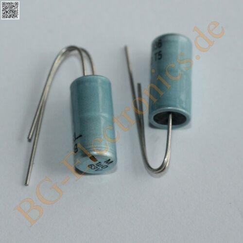 20 x 1µF 1uF 63V RM2 Elko Kondensator Capacitor Radial BC-Compon  20pcs