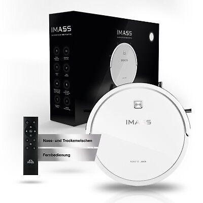 IMASS 2in1 Saugroboter mit Wischfunktion A3 Prime Clean für Hartböden, Teppiche
