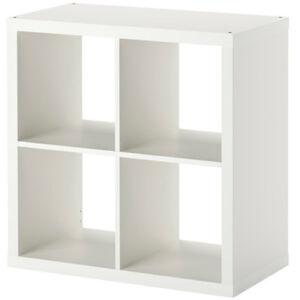 IKEA-KALLAX-Regal-weiss-77-x-77-x-39cm-Buecherregal-Wandregal-Sideboard-WEISS-NEU