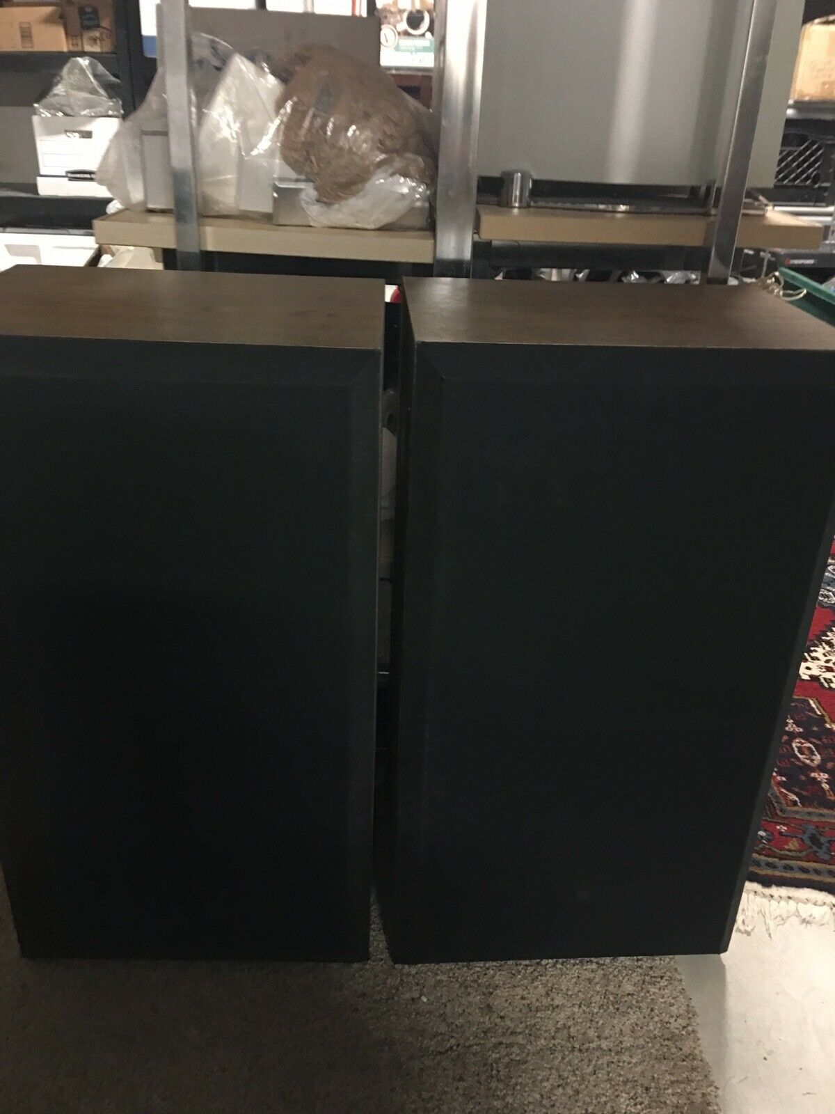One pair Acoustic Monitor Digital Ready Speakers dbIV Willing To PART OUT