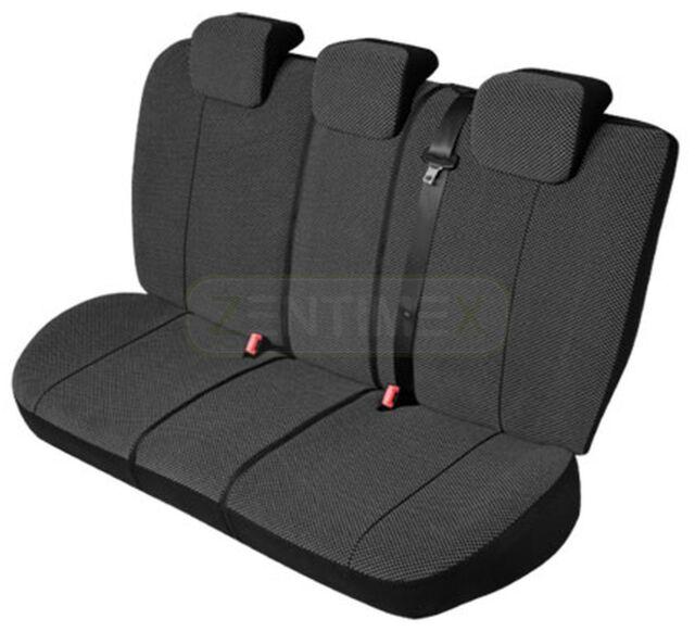 Schwarz Effekt 3D Sitzbezüge für HYUNDAI MATRIX Autositzbezug Komplett