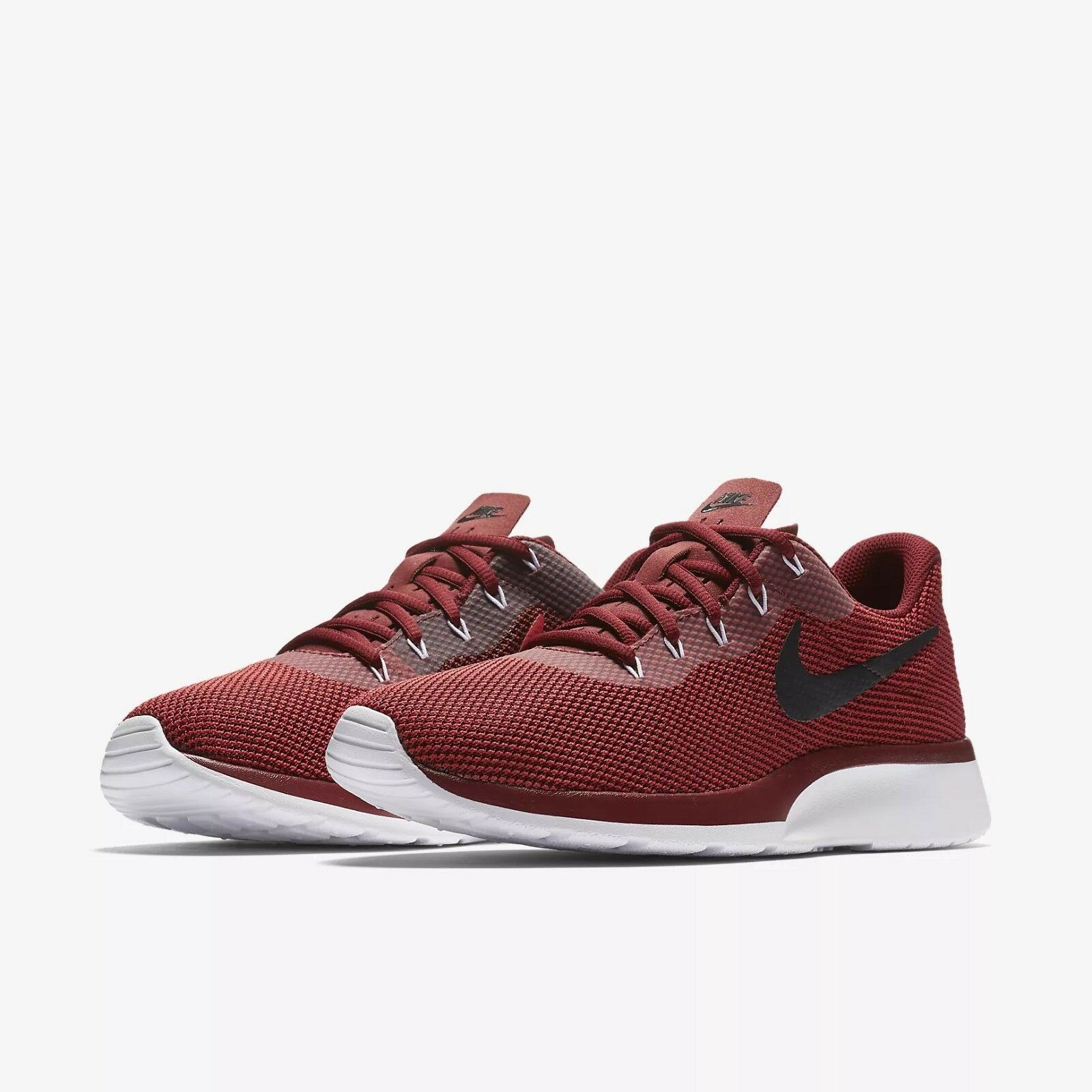 Men's Nike Tanjun Racer Shoes Dark Team Red/Blk-Wht NIB Sizes 8-12 921669-600
