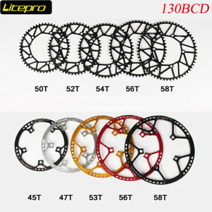 Litepro-CNC-Lightweight-130mmBCD-Chainring-Folding-Road-Bike-Chainwheel-45-58T