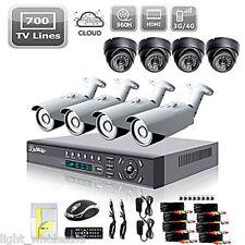 Hi-Q 8CH H.264 CCTV Security DVR Outdoor Camera System Motion Detect Infrared IR