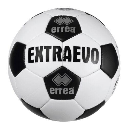 PALLONE CALCIO ERREA/' EXTRA EVO T0069 FOOTBALL ALLENAMENTO BIANCO NERO