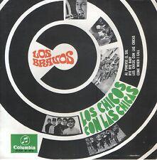 LOS BRAVOS EP Spain 1967 Los chicos con las chicas +3