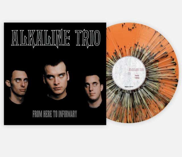 Alkaline Trio  From Here To Infirmary Vinyl Me, Please VMP Splatter Presale LP.