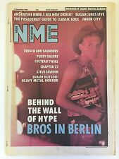 NEW MUSICAL EXPRESS NME MAGAZINE  17 DECEMBER 1988  BROS IN BERLIN     LS