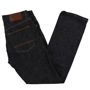 Tommy-Hilfiger-Mens-Jeans-Slim-Straight-Fit-Denim-Pants-29x30-30x30-Rinsed-New