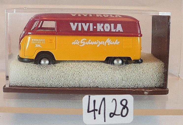 Brekina 1 87 Nº 0127 Volkswagen Camionnette VW t1a enré Vivi-Kola CH neuf dans sa boîte  4128