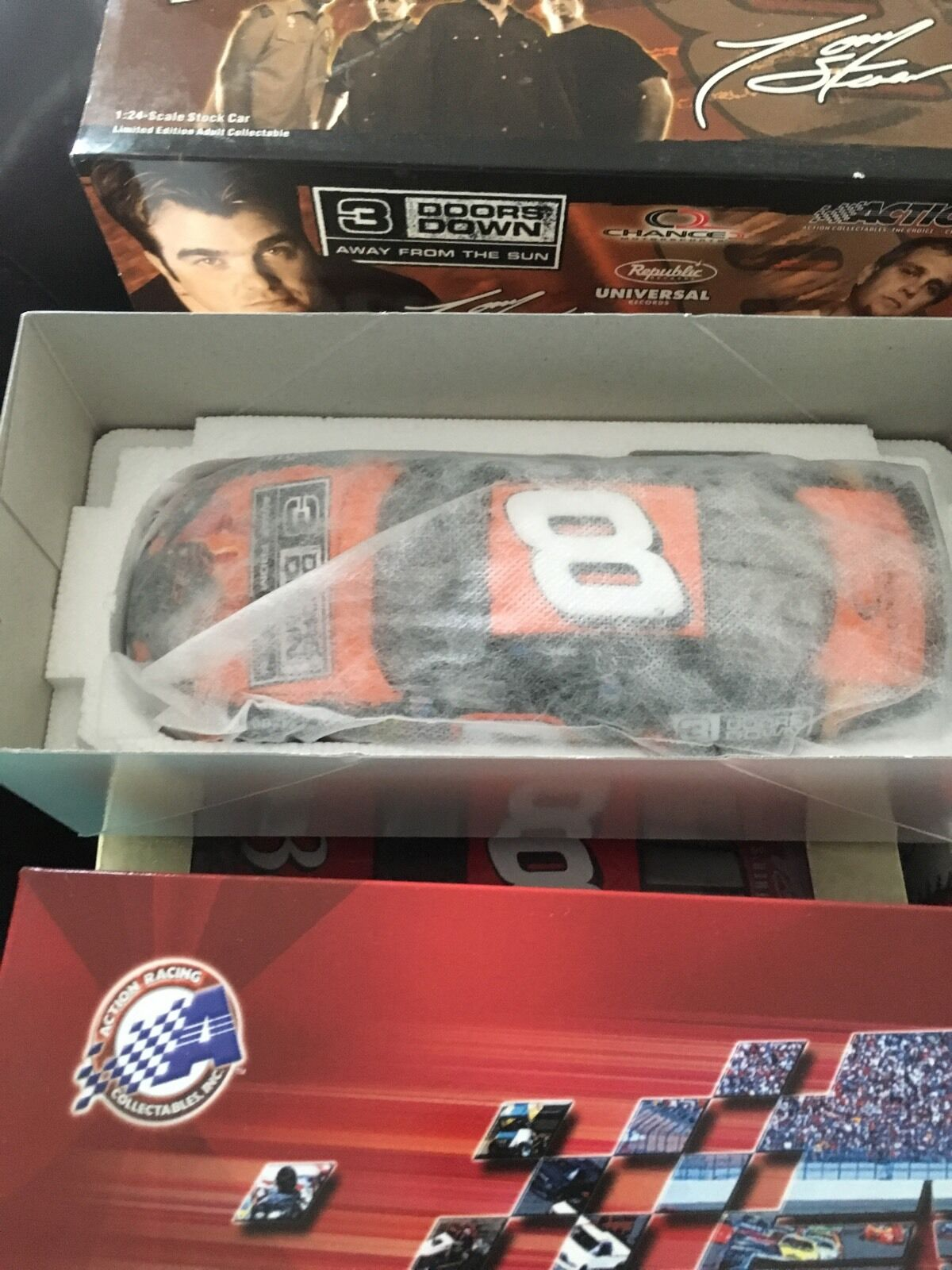 TONY STEWART 2003  8 3 DOORS DOWN Dale EARNHARDT Jr. 1 24 Die Cast