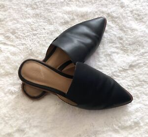 Madewell Gemma Saddle Leather Black