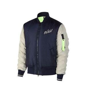701b752fd452 Nike Sportswear Down FILL Bomber Jacket Navy Blue Size M 928917 451 ...