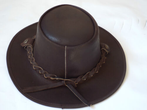 Cuir CHAPEAUX COWBOYS chapeaux style western Bush qualité supérieure