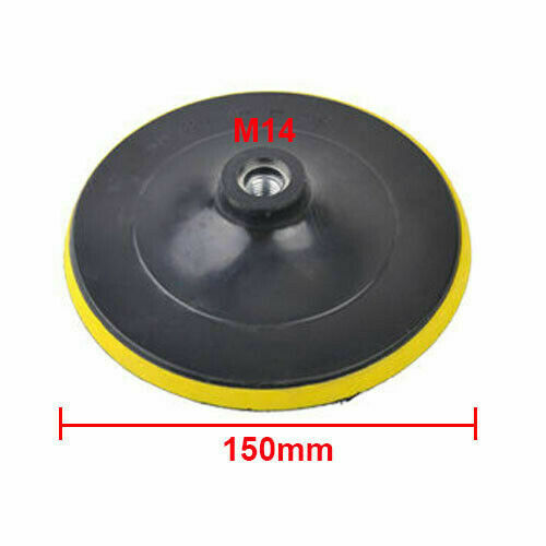 3/'/' 4/'/' 5/'/' 6/'/' 7/'/' Backing Pad Disc Hook And Loop Sander Angle Grinder M10 M14