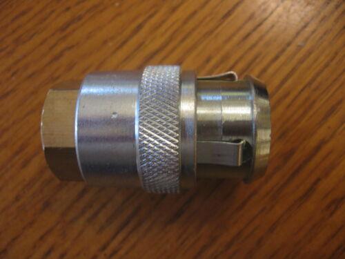 """NAPA 90-534 Large Bore cilp on Air Line Chuck 1//4/"""" FNPT female thread H4660A"""