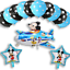 New-Disney-Mickey-Mouse-Birthday-Foil-Latex-Balloons-Plane-Party-Decorations-Boy thumbnail 12