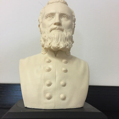 GIFT BOXED Stonewall Jackson Bust Statue Historical Sculpture