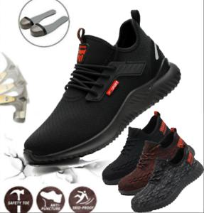 Arbeitsschuhe Sicherheitsschuhe Stiefel Halbschuhe Sportliche Mit Stahlkappe S3