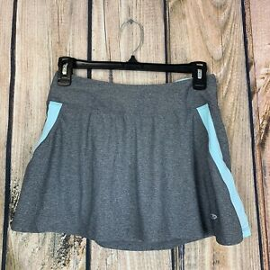 C9-By-Champion-Heathered-Gray-Blue-Tennis-Athletic-Skirt-Small