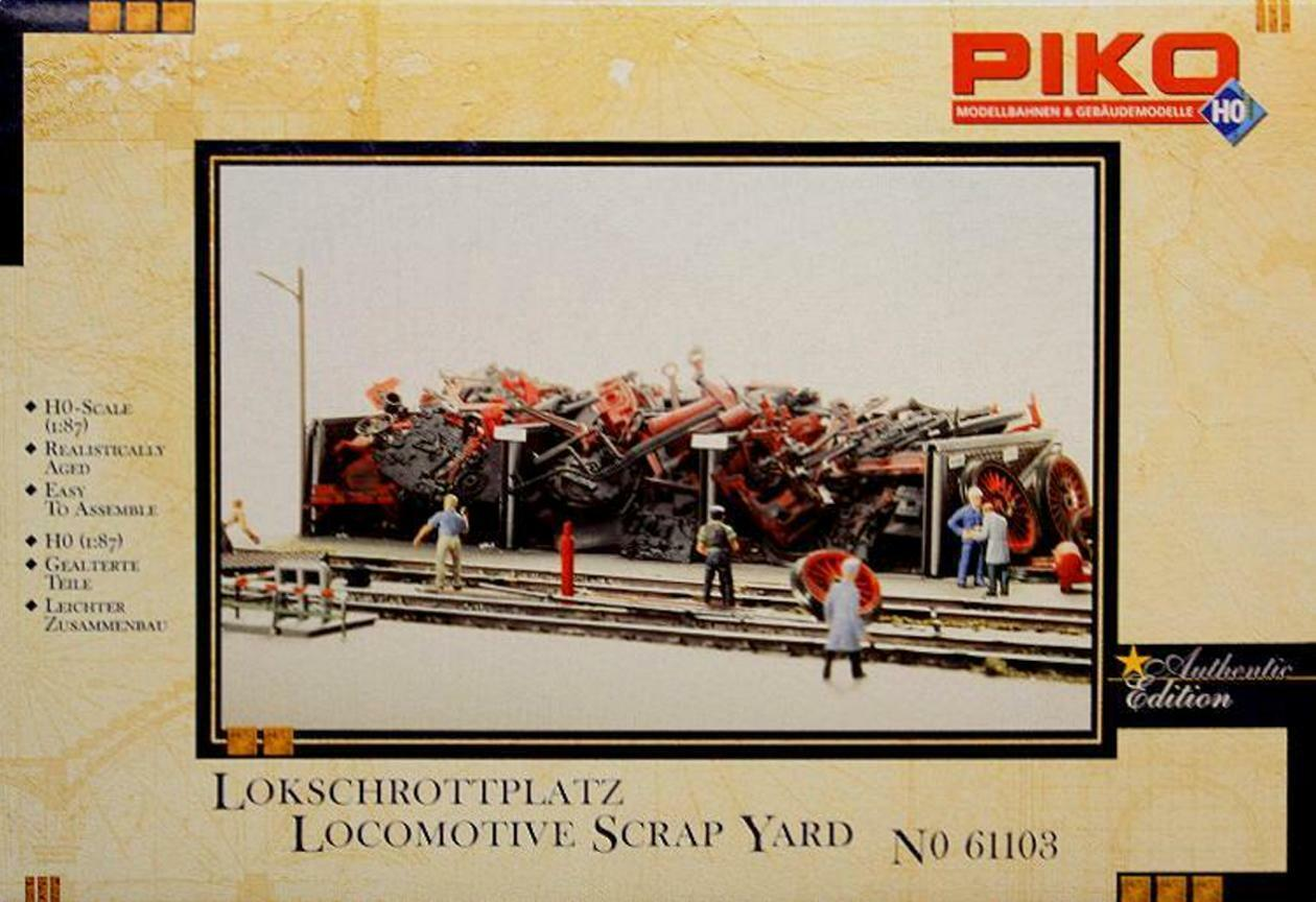Piko 61103 H0 - Lokschrottplatz NEU & OvP  | Qualitätsprodukte