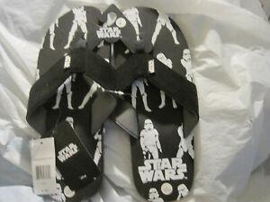 Disney-Star-Wars-Storm-Trooper-Sandles-Flip-Flops-Mens-Size-L-10-11-LBDLU