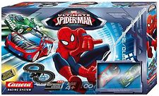 Ultimate Spiderman Slot Racing Car Racing Track Set By Carrera Toy NEW BOXED